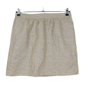 3 for $20- Loft Wool Blend Beige & Silver Skirt